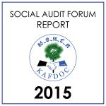 social audit forum report 2015