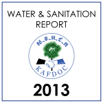 water sanitation report 2013